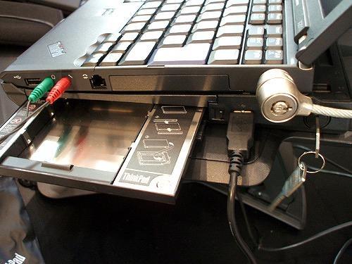 Thinkpad X201とウルトラベース