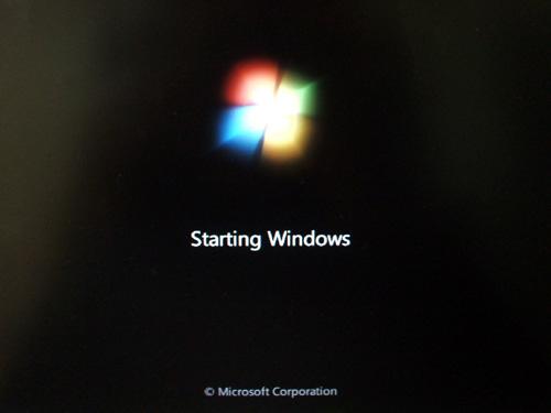 Windowsの起動
