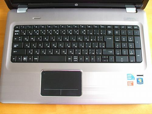 HP Pavilion dv7 キーボード