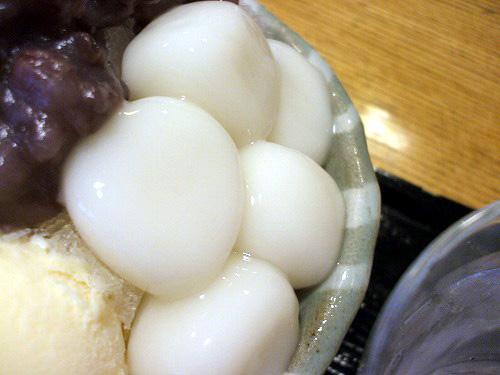 大きな白玉