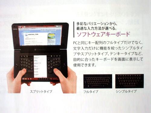 ソフトウェアキーボードの概要
