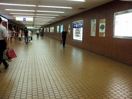 地下の通路