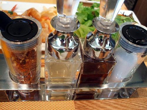 4種の調味料
