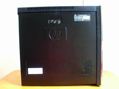 HPE 290jpの左側面