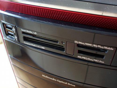 HPE 290jpのメディアカードリーダー