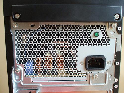 HPE 290jp 電源周辺