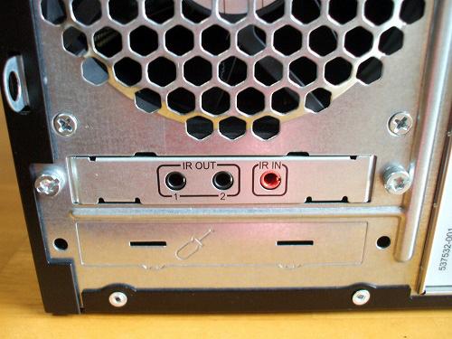 HPE 290jp 背面左下の端子