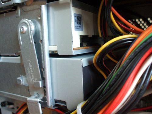 HPE 290jp 光学ドライブ