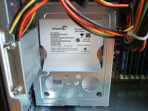 HPE 290jp ハードドライブスロット