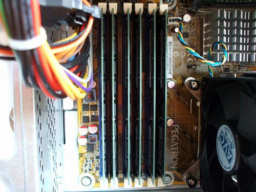 HPE 290jp メモリ