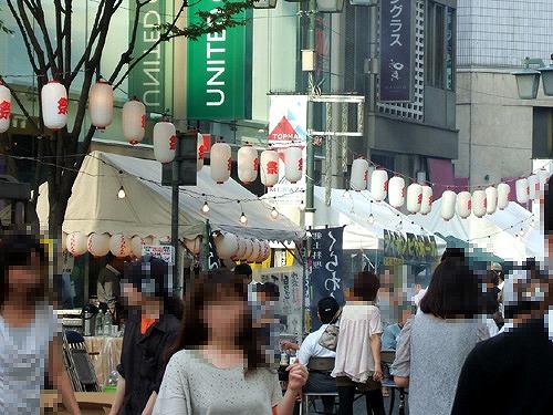 新宿で祭り