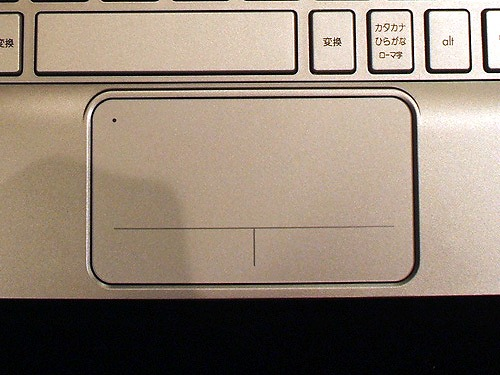 HP Mini 210-2000 タッチパッド