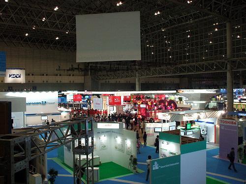 CEATEC JAPAN 2010会場