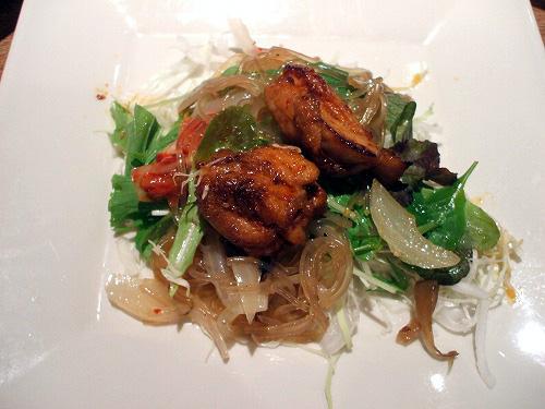 タッカルビのサラダ