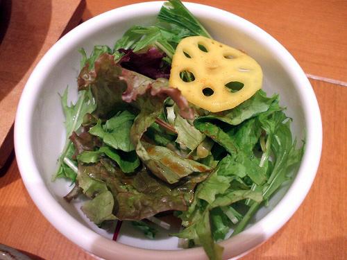 緑のサラダ