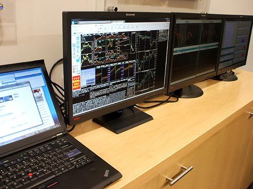 Thinkpad T410s で4画面表示
