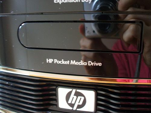 HPポケット・メディア・ドライブベイ