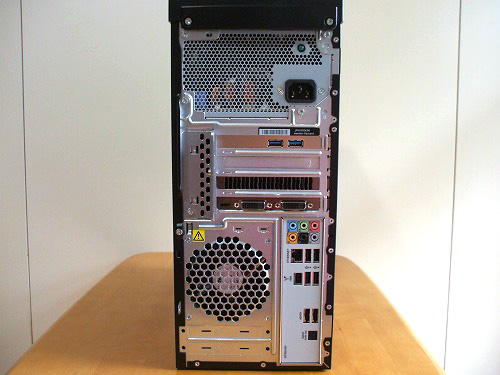 HPE 390jp 背面