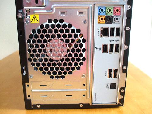 HPE 390jp 背面下部
