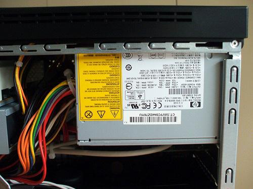 HPE 390jp 電源
