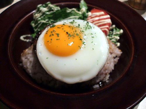 ディキシー風 ロコモコ丼