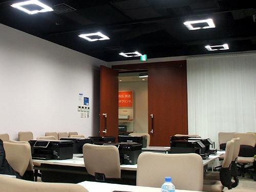 日本HP イベント会場