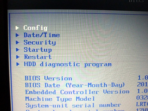 "Edge 11""のBIOS"