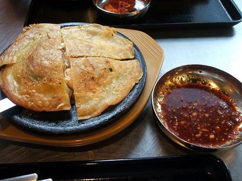 韓国王 餃子チヂミ