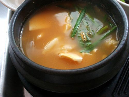 テンジャンスープ