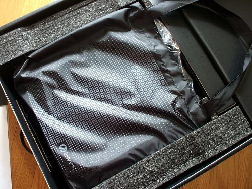 ENVY 100 と付属品の入った箱