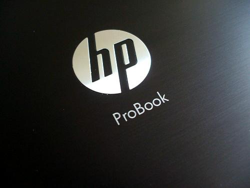 ProBook 4720s トップパネルのロゴ