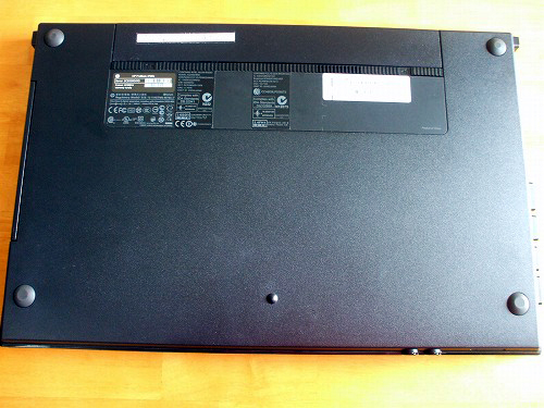 ProBook 4720s 底面