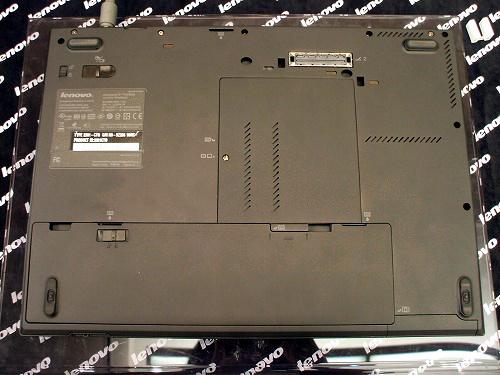 Thinkpad T410s底面