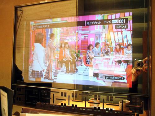 鏡のようなテレビ