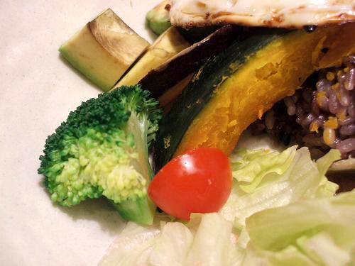 ロコモコの野菜