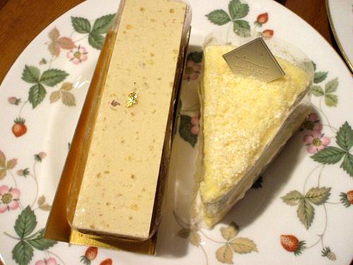 ラ・テールのケーキ