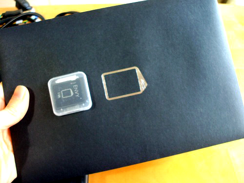 HP ENVY14 付属のSDメモリーカード