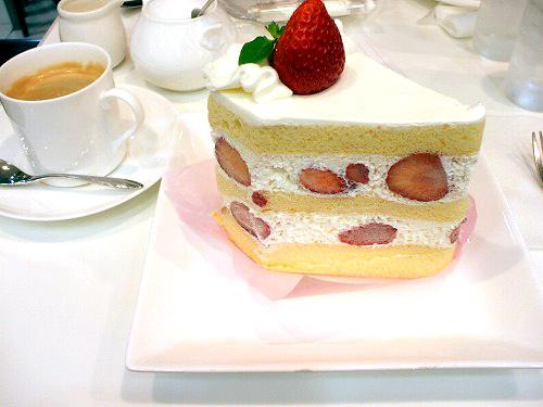 ダブルショートケーキセット