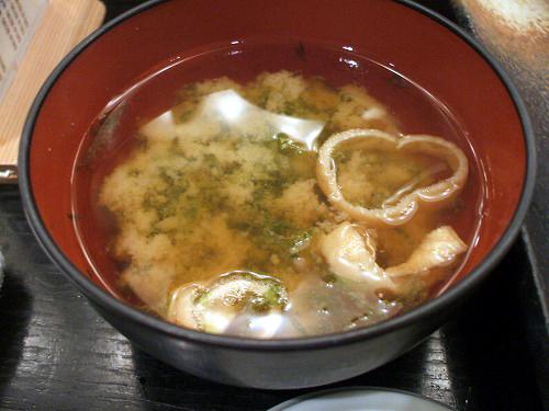 青海苔の味噌汁