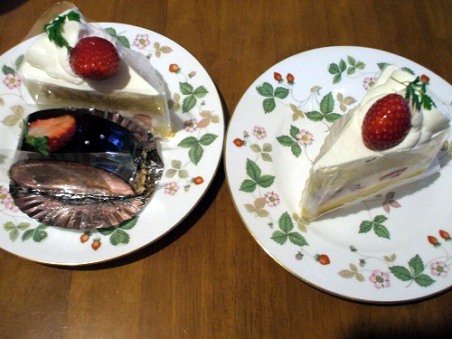 アルファカーメルのケーキ