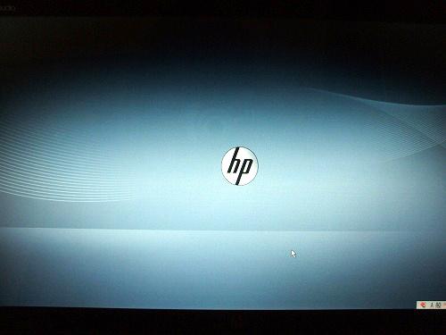 HP ロゴ画面
