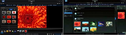 HP MediaSmart フォト機能