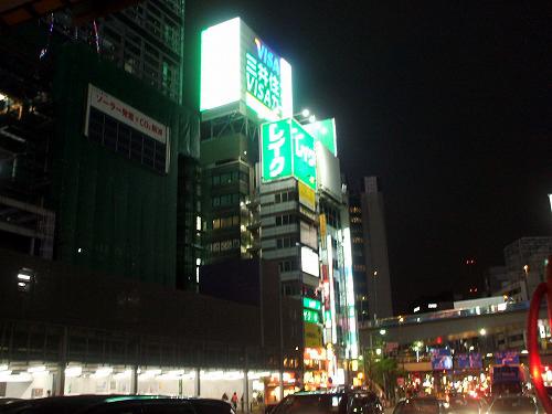 渋谷東口の風景