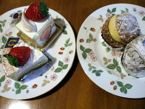 ケーキ4種