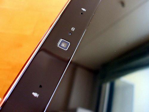 IdeaPad Y560 ウェブカメラと内蔵マイク