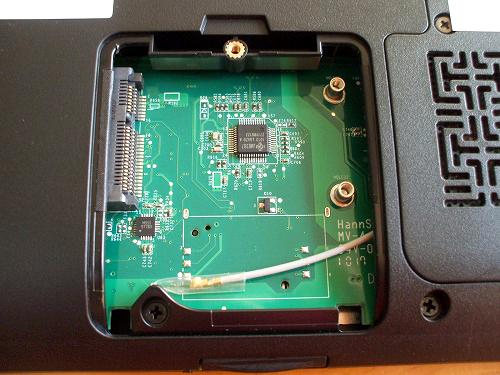 IdeaPad Y560 PCI Expressカードスロット