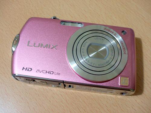LUMIX FX70前面