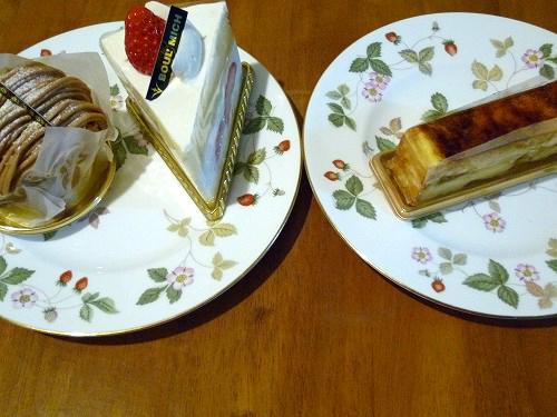 ブールミッシュのケーキ