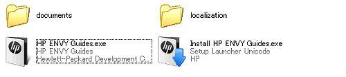 HP ENVY14 付属のメモリーカードの中身