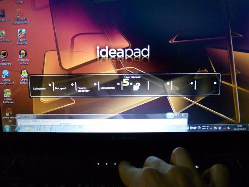 IdeaPad Y560 ショートカット機能